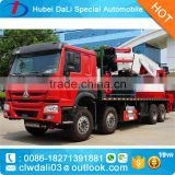 80MT 800000KG boom hoist truck high up truck hook lift truck