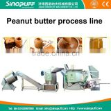 Peanut butter maker machine/peanut butter production line/industrial peanut butter making machine 300kg/hr