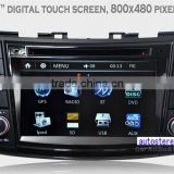 Autostereo Car Radio Navigation System for Swift DVD Stereo Bluetooth iPod Free Map Phonebook USB SD PIP Multi-languages