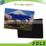 full color printing 3D effect PP tourist souvenir fridge magnet