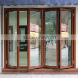 Rogenilan Australia Standard AS2047 aluminum bi folding door with Australian top brand hardware