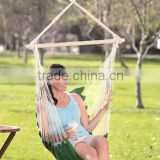 GREEN SWINGING HAMMOCK CHAIR OUTDOOR FURNITURE