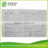 (PHOTO)FREE SAMPLE,proforma invoice,5-ply,color paper,with serial number,express air waybill