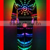 TC-015 spider led suit man custom,dance props costume for performance,full color RF lights led dance costumes