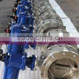 Stainless steel Pneumatic Triple offset Butterfly Valve Price