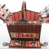 2016 new design rattan picnic basket,Hot selling outdoor wicker basket,most popular camping willow