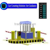 Car Counting System detection Solution for Parking Lot Entrance and Exit Smart Guidance