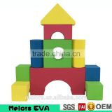 Melors EVA intelligence building blocks toys DIY Enlighten EVA Creative toys building block for kids,metal building block toys