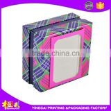 Custom Color Printed Paper Gift Box for bar bath soap packaging