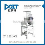 DT 1201-CS embroidery designs sewing machines swf embroidery machine Single head compact embroidery machine