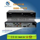 Brazil Digital TV ISDB-T Receiver, HD Digital TV ISDB-T Set Top Box, Brazil Car ISDB-T TV Tuner Receiver Box