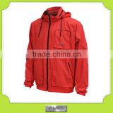 custom men's mesh lining nylon outer shell jacket