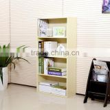 Cheap wooden multilayer bookcase / new style bookshelf simple designs