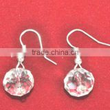Fashion Ear Rings with Glass Crystal Ball
