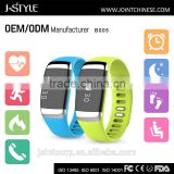 J-Style Bluetooth ecg wristband with accurate heart rate monitor & Electrocardiogram multifunctional activity tracker