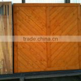 Japanese Style Wood Fence Fencing Screen