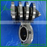 Aluminum, stainless steel, carbon steel cnc turning parts, casting machine parts, cnc machining reducing flange