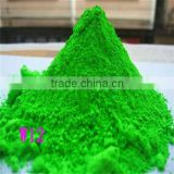 with good service! green fluorescent pigment dye/fluorescent powder/Noctilucent powder