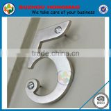 3D New design Stainless steel House Numbers letters for door and Entrance
