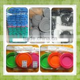 disposable eco-friendly silicone plastic bowls
