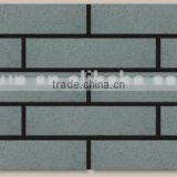Old artificial brick wall panels, decoration grey wall brick