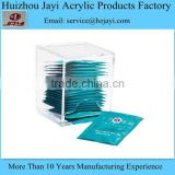 China supplier wholesale acrylic tea bag display rack and tea bag holder