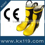 Fire equipment Manufacturer 2014 New Pruduct fire safety boots fire mining safety boots