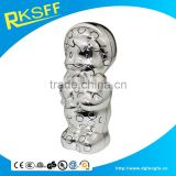 baby gifts die casting zinc alloy silver coin bank