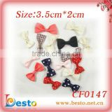 CF0147 Children small ribbon bow cheap wholesale flower for hair