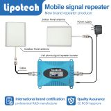 Shenzhen Lipotech cheap and small with lcd screen single band mobile signal repeater