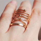 Fashion Jewelry Geometry Ring sets