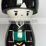 hotselling wooden japanese nesting dolls for decoration,japanese wood dolls,japanese toy dolls