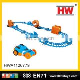 Plastic Space Rail Toys Railway Track For Children