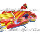 OEM design inflatable obstacle course in commercial use ID-OB037