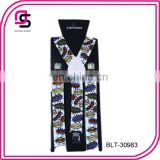 2014 latest style cartoon printed cheap price suspender fashion suspender