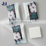4.0cm Square cotton compressed disposable towel