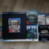 Playstation 4 500GB + 7 Games