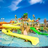 Fiberglass Water Slide Hotel Aqua Park Design Water House for Kids