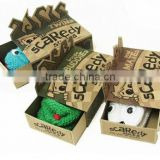 Custom high quality kraft glove gift box/glove box wholesale