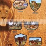 Lion animal pattern embroidery patch for jacket garment                                                                                                         Supplier's Choice