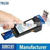 EMV barcode scanner NFC IC Card reader Smartcard reader Printer android portable pos machine