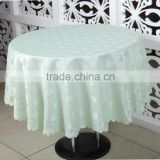 Banquet Round Jacquard Table Cloth, Large Size round Table Cover