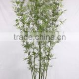artificial /fake bamboo with natural stem and high-grade leaves stem/artificial /fake lucky bamboo tree/bonsai
