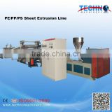 High Quality Single Layer PP PS Plastic Sheet Extruder