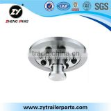 reliable factory made in China truck trailer parts king pin plate