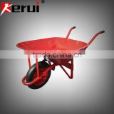 steel pipe wheel barrow cement steel wheelbarrow