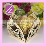 New Arrived Laser Cut Pearl Paper Chocolate Box CB-2 from Haoze