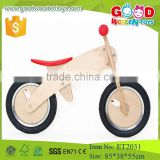 2015 hot sale high quality wooden kids walking bike toys
