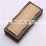 Superb special paper and wood pen packaging box for pen display