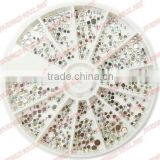 R-106 Nail Art ,2014 Hot Sell nail art;crystal stones,Professional Nail Beauty,Nail Rhinestones